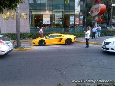 Lamborghini In Mexico Lamborghini Aventador Spotted In Mexico City Mexico On 02