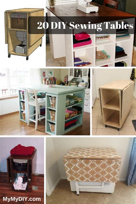 sewing table plans free the 20 best diy sewing table plans ranked mymydiy
