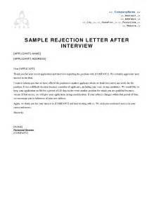 Sle Rejection Letter Via Email Rejection Letter By Email Resume 28 Images Rejection Thank You Letter Email After How To