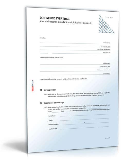 Muster Notar Schreiben Schenkungsvertrag Geld Muster Kostenlos Comdirect Hotline