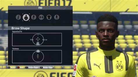 ousmane dembele on fifa 18 fifa 17 pro clubs ousmane dembele lookalike tutorial