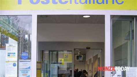 ufficio postale carate brianza posta chiusa desio via galli