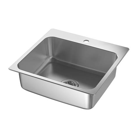 kitchen sinks ikea l 197 ngudden inset sink 1 bowl ikea