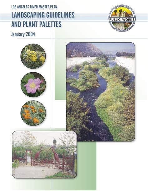 landscaping guidelines and plant palettes los angeles california