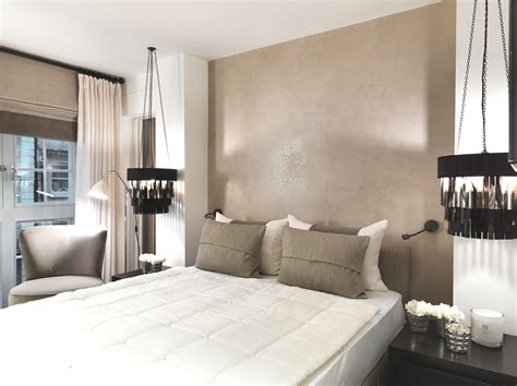 Kelly Hoppen Interiors Bedrooms by Luxury Covent Garden Apartment By Kelly Hoppen Mbe