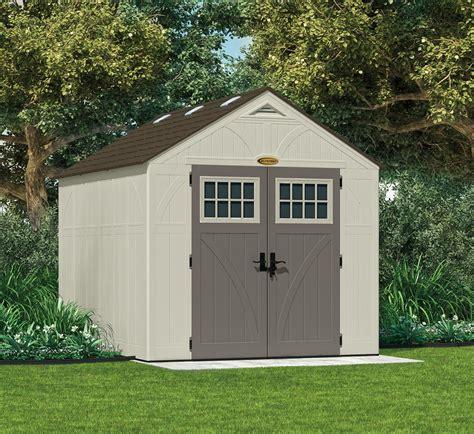 suncast  tremont  plastic shed