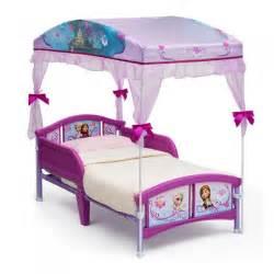 Toddler Own Bed Age Cama Infantil Con Toldo O Dosel De Disney Frozen