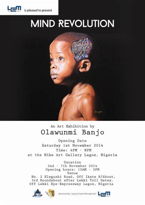 Mindset Revolution mind revolution an exhibition by olawunmi banjo