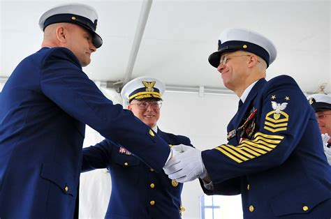 change of coast guard reserve master chief