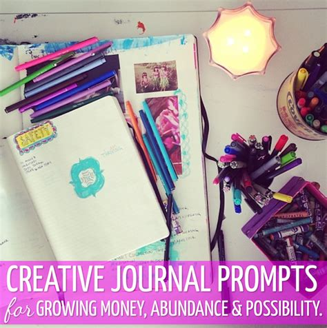 magic money journal a journal for creating abundance magic money books volume 4 books creative journal money prompts