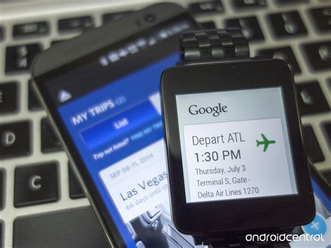 flying with a delta fly delta app updated with support for android wear android central