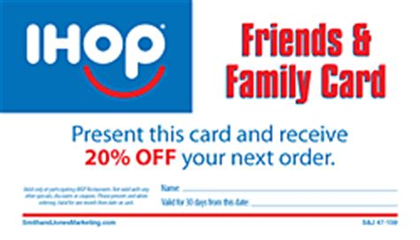 Ihop Gift Card Number - ihop local store marketing frequency cards
