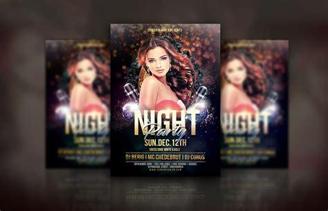 dafont infinite stroke night party flyer by eyestetix studio thehungryjpeg com