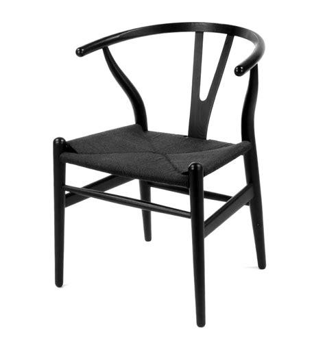 wood wishbone  chair black dining chairs advancedinteriordesigns