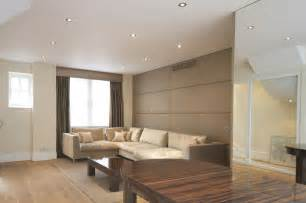the fabric wall panels add a luxury elegance to your