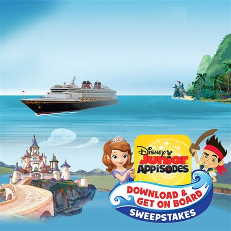 Disney Channel Com Summer Sweepstakes - win a 7 night disney magic cruise from disney junior s appisodes download get on