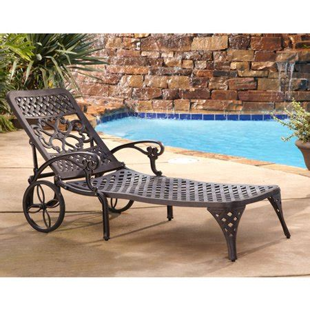 home styles biscayne outdoor chaise lounge chair walmartcom