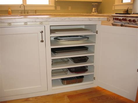 baking storage picture of diy cupboard to store casserole dishes