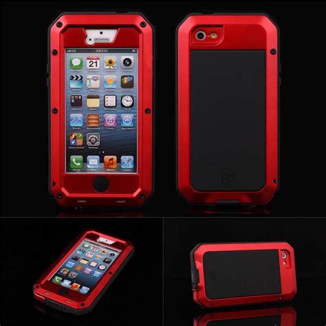 Anti Gores Anti Shock Limited Cover Iphone 7 Plus aluminum gorilla glass metal cover iphone 6 6 plus