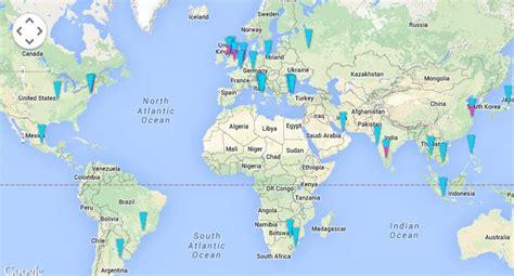 mapa sobre  unilever unilever brasil