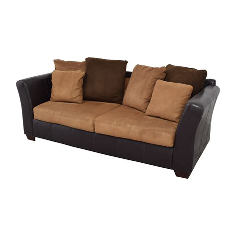 43 Off Ashley Furniture Ashley Furniture Sofa With Brown Sofa Pillows
