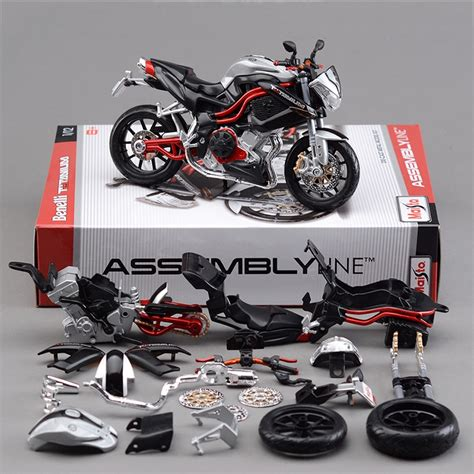 maisto  tnt titanium motorcycle model kit  scale