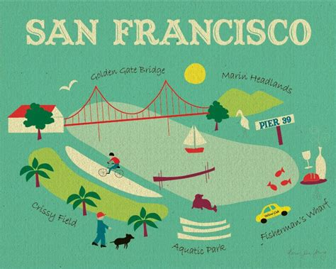 san francisco map etsy 48 best images about petals on collage