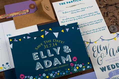 summer fete wedding invitations summer fete wedding invitation by the charming press