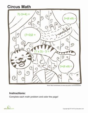 5th Grade Math Order Of Operations Worksheets by Order Of Operations Practice 1 Algebra Worksheets And