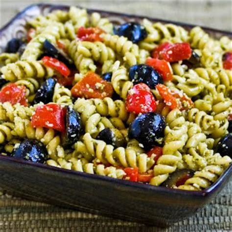 pesto pasta salad recipe kalyn s kitchen 174 easy pesto pasta salad recipe with