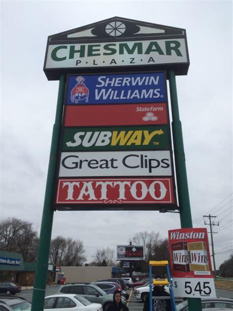 pinstruck tattoos pinstruck tattoos marquee sign stonefly custom vinyl