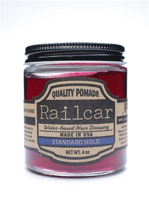 Pomade Railcar railcar goods hair pomade grooming from muazo uk