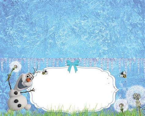 olaf printable name tags disney olaf frozen food tents printable by dixondesigned