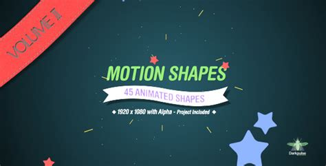 motion graphic template free motion graphics motion shapes vol 2 videohive