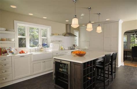 kitchen island with wine storage なんかかっこいい 完全開放型アイランドキッチン kitchen island style4 decor