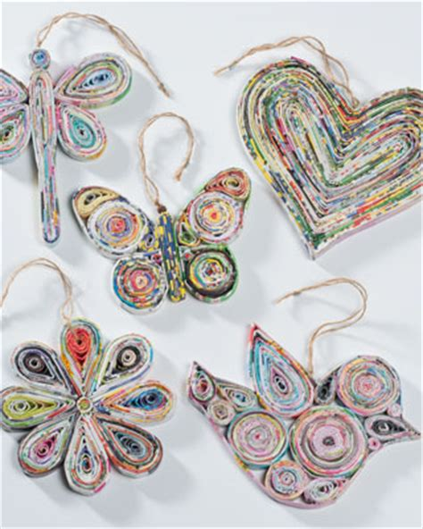 recycled paper hanging decorations gt decorations gt gifts