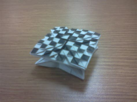Origami Chess - origami chess board by masonandaghast on deviantart