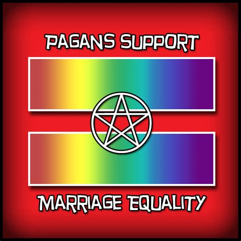 Equality Meme - pagans support marriage equality red equal sign know