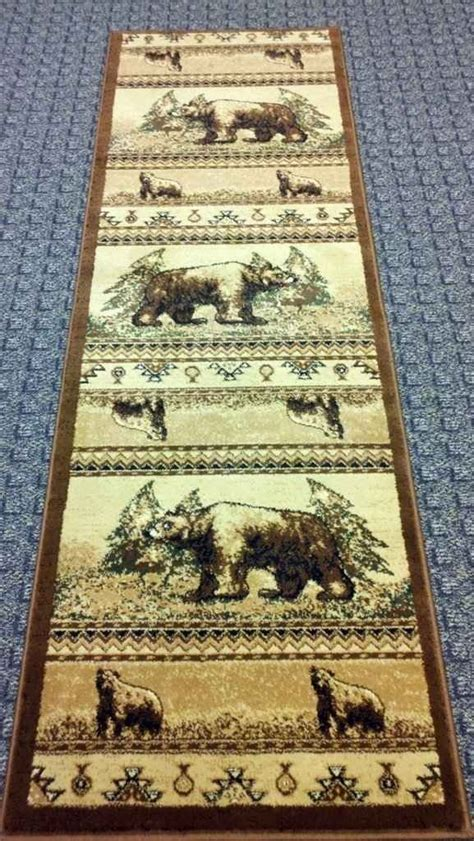 Rugs For Cabins by Rug Runner For The Cabin For The Home Floors Walls