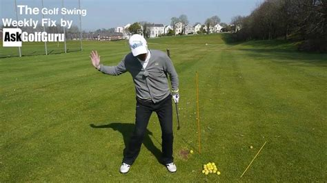 d plane golf swing the golf swing weekly fix d plane set up and backswing