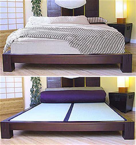 Japanese Low Bed Frame Platform Beds Low Platform Beds Japanese Solid Wood Bed Frame