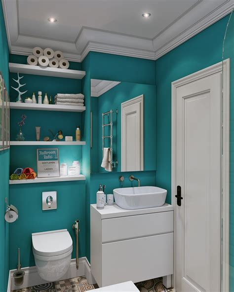 Small Bathroom Colors And Designs by Bathroom Shelving Ideas For Optimizing Space