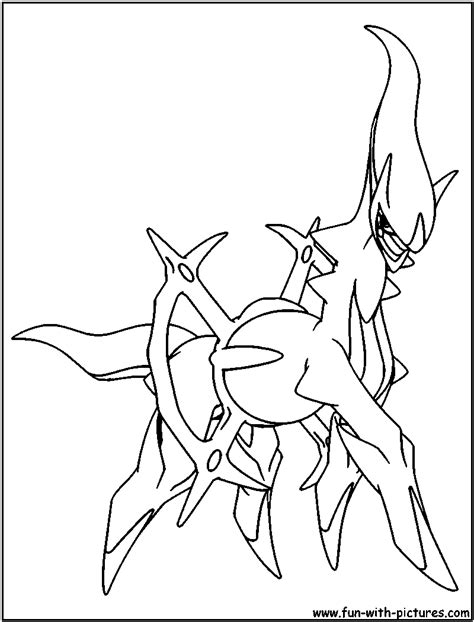 pokemon coloring pages arceus free coloring pages of pokemon arceus