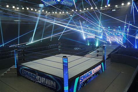 wrestlers   commercial breaks  empty arena