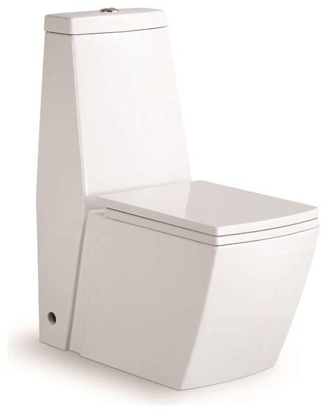 square toilet aqua one piece dual flush square toilet w soft closing