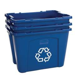 recycling boxes rubbermaid recycle bins recycle away