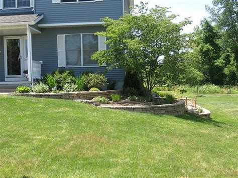 retaining wall side of house house side retaining wall landscape projects pinterest