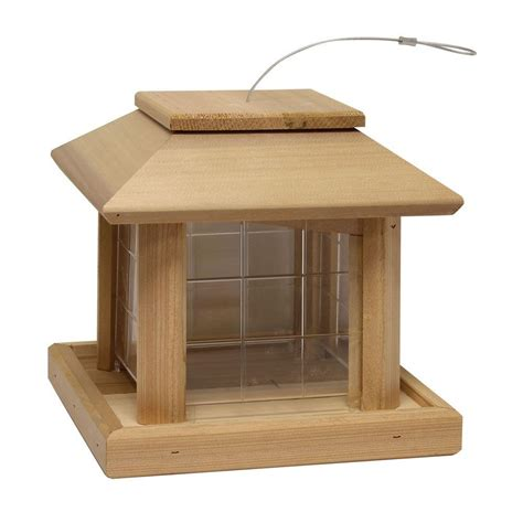 heath bird pavilion cedar wild bird feeder 496 the home