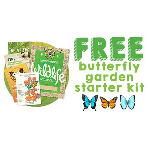 Butterfly Garden Kit by Free Butterfly Garden Starter Kit