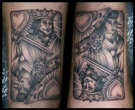 tattoo queen card image gallery king card tattoo